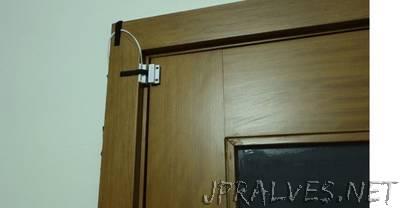Door Status Monitor using the ESP8266