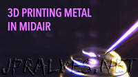 Printing metal in midair
