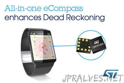 STMicroelectronics Brings Superior Indoor and Undercover Navigation to Mobiles and Wearables