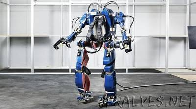 Hyundai shows off its wearable robot Iron Man prototype suit