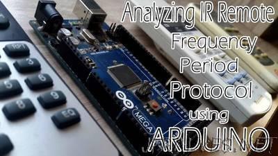 Analyze Any IR Protocol With Just You Arduino Board