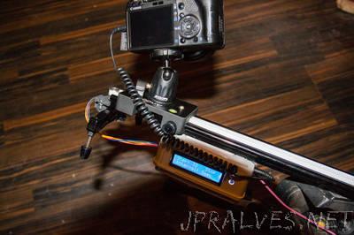 Arduino Time Lapse Slider