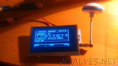 DIY 32ch FPV 5.8ghz LCD
