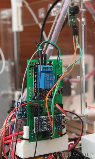 3D Printer (RepRap) Monitor