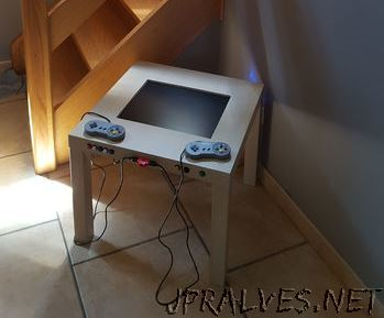 Cheap retro gaming arcade table