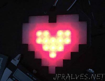 Heart Rate Party Pendant