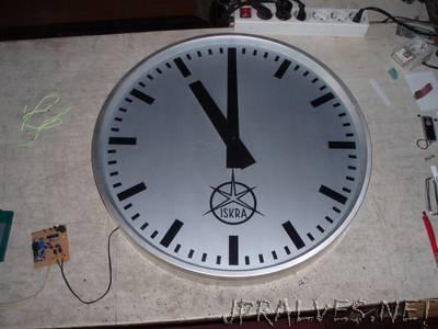 master clock driver for antique slave clocks