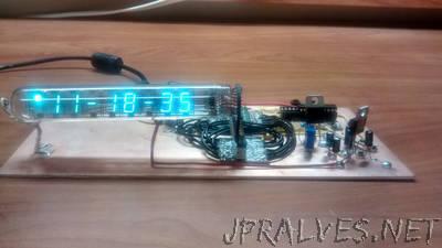 MSP430 VFD Clock  Manhattan Style
