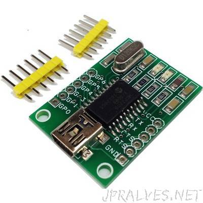USB to UART Converter with GPIO  MCP220