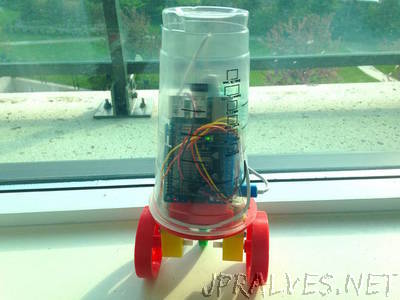 CupBot - 3D Printed Robotics platform