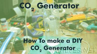 Homemade DIY CO2 generator
