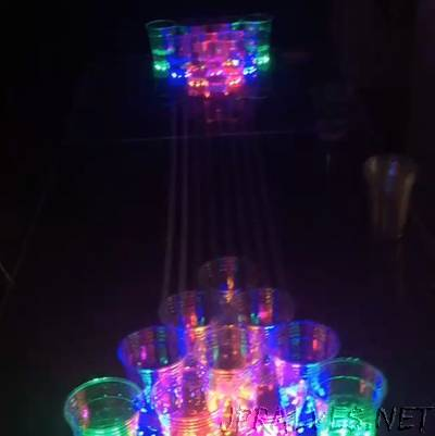 LED Arduino Beer Pong Table