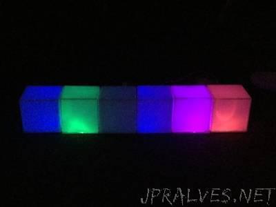LED Music Boxes (Hummingbird)