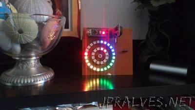 LED Ring Clock With Arduino - jpralves net