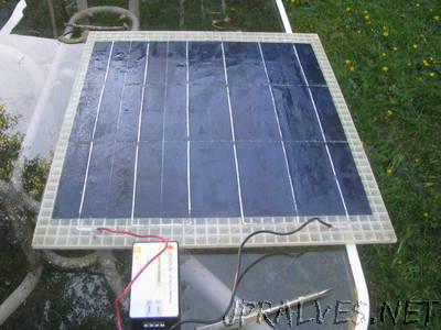 Lightweight Solar Panel (12V Battery Charger)