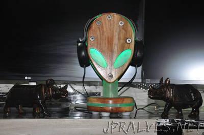 RGB Handmade Alien Ware Head phone Stand