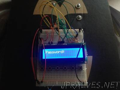 Electronic Safe with Arduino