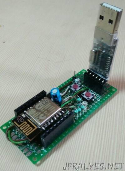 Make Esp8266 Dev Board From Scratch
