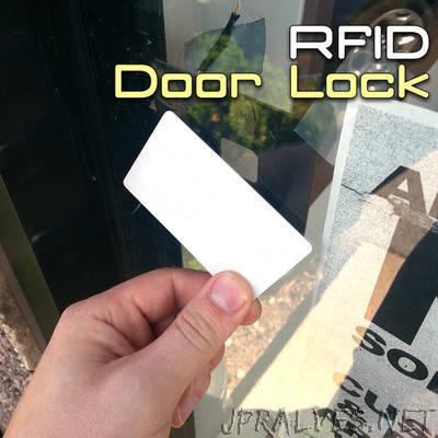 RFID Door Lock With Arduino - jpralves net