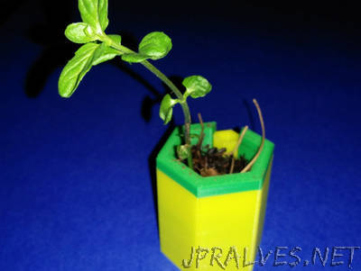 Customizable Watering Planter