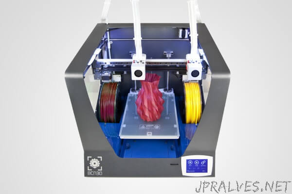BCN3D Technologies releases open source files for BCN3D Sigma 3D printer