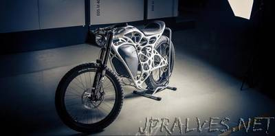 Light Rider - World's first 3D printed motorcycle
