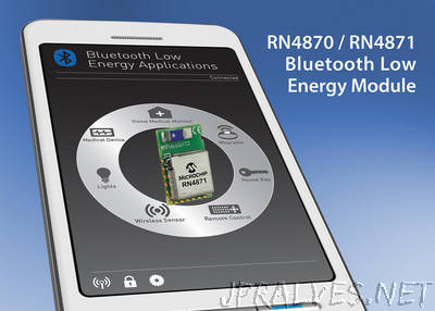 Microchip Announces Next-Generation Bluetooth® Low Energy Solutions with Easy-to-Use Interface and Embedded Scripting Capability