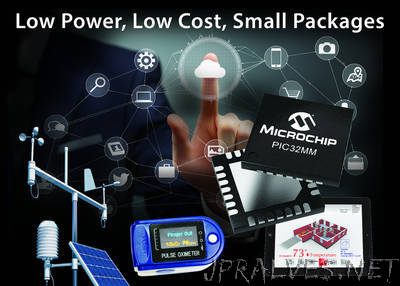 Microchip Launches Lowest Power, Cost-Effective PIC32 Family With Core Independent Peripherals