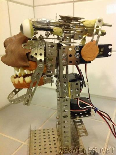 Egor V.1 Animatronic: basic, autonomous, low cost artificial character.