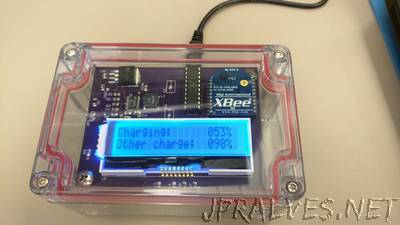 Supercapacitor Backup with Wireless Charging
