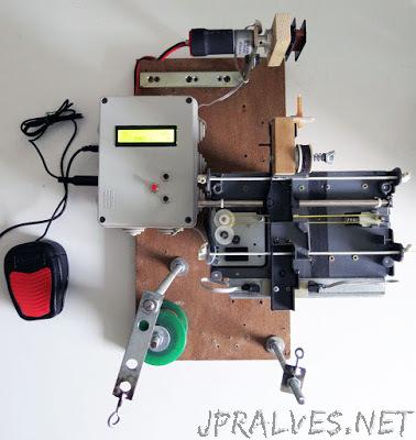 A CNC Pickup Winding machine built on an ATmega8