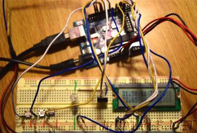 Simple Thermostat using Arduino