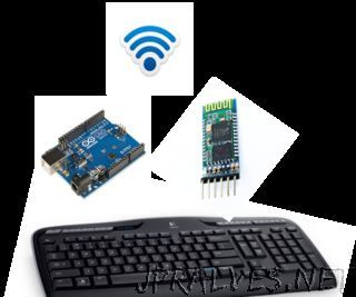 Wireless Keyboard With Arduino