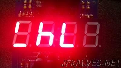Binary Clock in 7 Segments LED Display