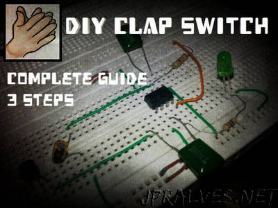 DIY Clap Switch 555 Timer