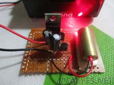 Make a Simple Laser Diode Module