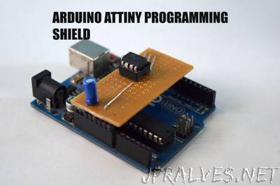 Arduino Attiny Programming Shield