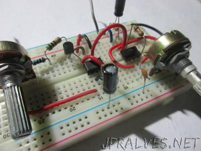 Basic (PWM) Motor Speed Control Using 555 Timer ICs