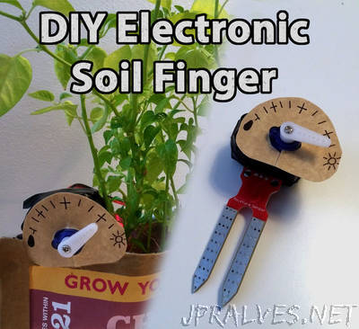 DIY Electric Soil Finger