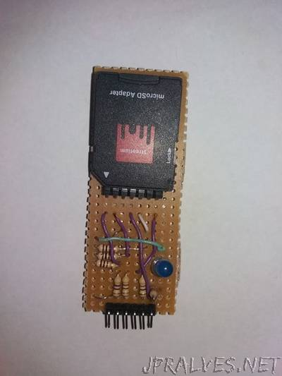 Cheap Arduino SD Card Reader