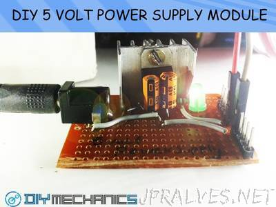 DIY 5 Volt Regulated Power Supply Module