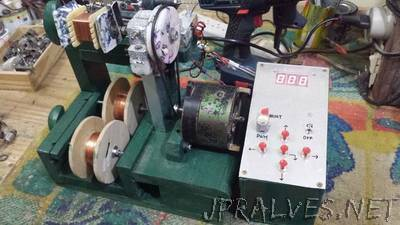 Homemade Automatic Coil Winder
