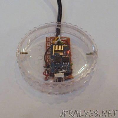 IRToWebThingy: IR remote to WiFi adapter with ESP8266