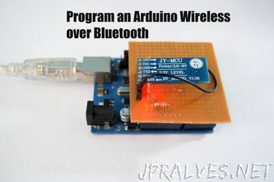 Program an Arduino Wireless over Bluetooth