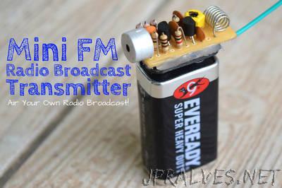 The Ultimate FM Transmitter  (Long Range Spybug)