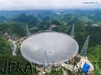 Xinhua Insight: Installation complete on world's largest radio telescope