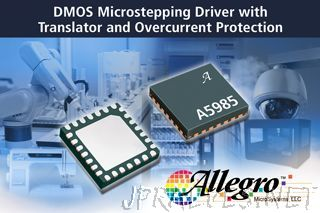 Allegro MicroSystems, LLC Announces New DMOS Microstepping Driver with Translator and Overcurrent Protection