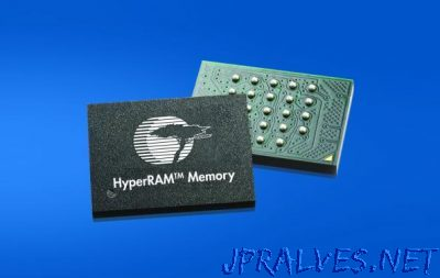 Cypress Simplifies Embedded System Design with New Low-Pin-Count HyperRAM Memory