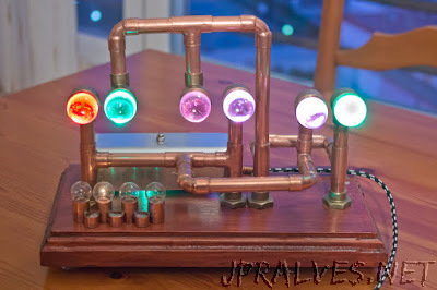 Arduino Chromatic Clock, with Steampunk  style
