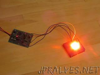 WiFiRGB - A WiFi-enabled RGB high-power LED